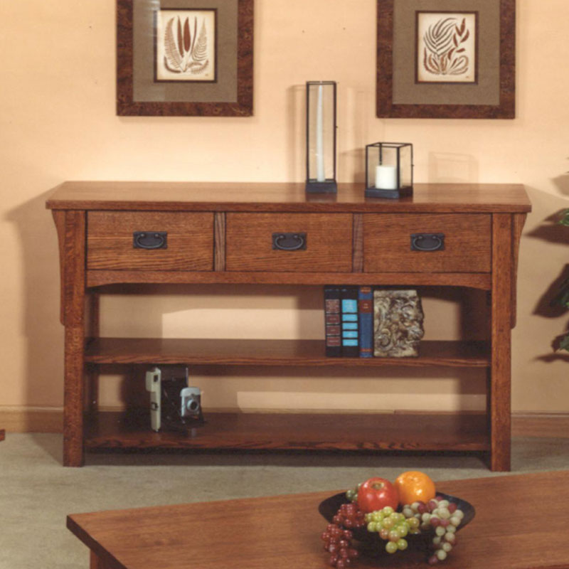Mission Sofa Table Barr S Furniture