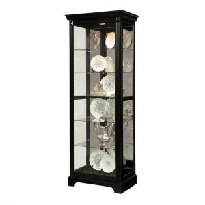 Dark Mirrored Back Curio