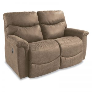 James La-Z-Time Full Reclining Loveseat