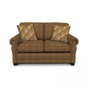 Green Two Cushion Loveseat