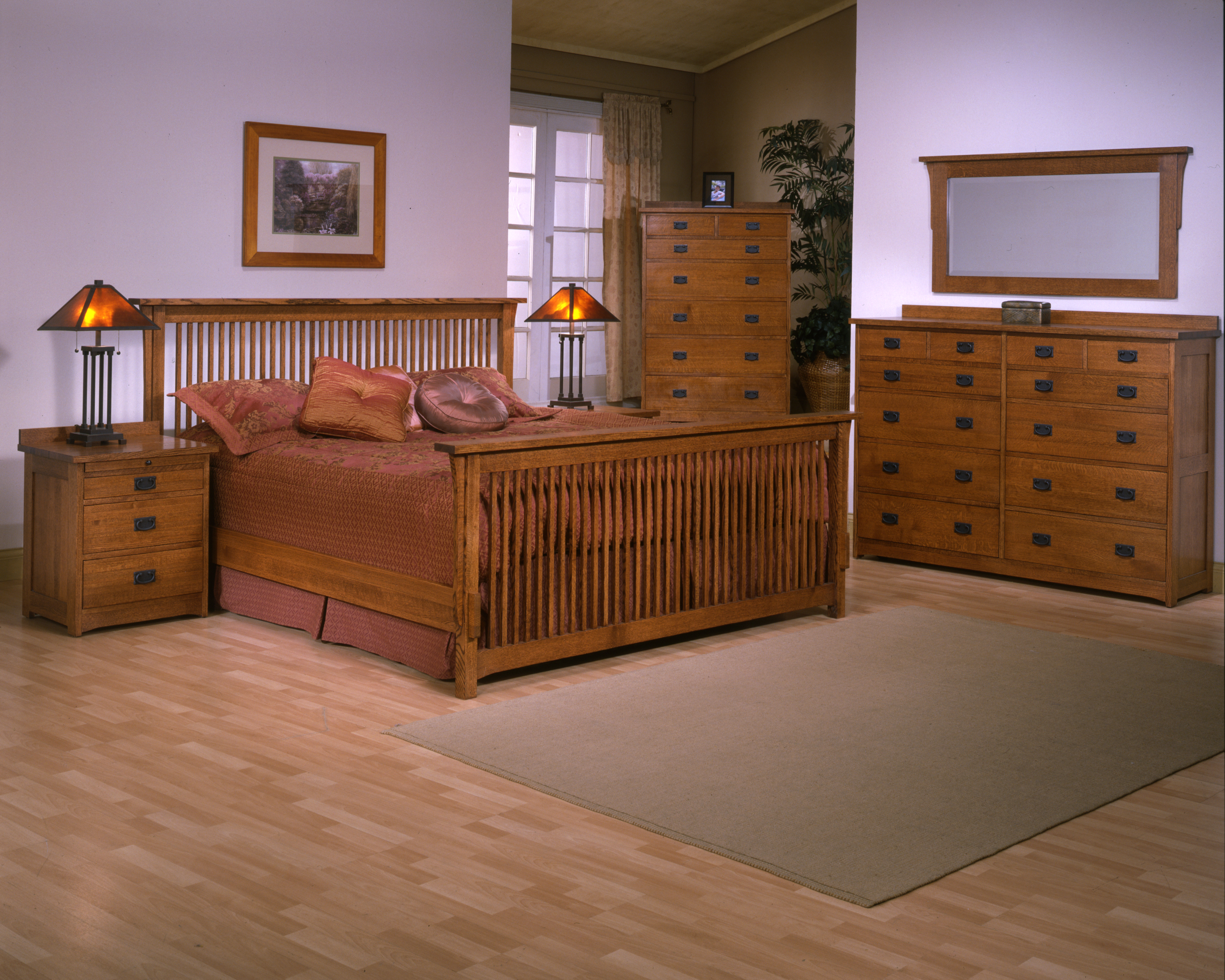 Mission Bedroom Solid Quartersawn Red Oak Archives Barr S Furniture Riverside California